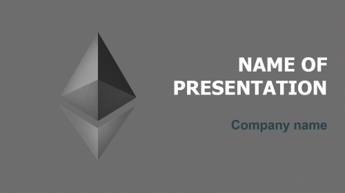 What Is Ethereum PowerPoint theme